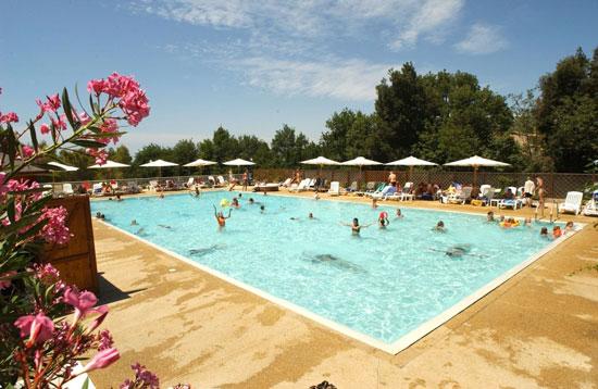 Camping Toscane met zwembad