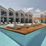 Hotel met heerlijk zwembad aan de kust van het Griekse eiland Zakynthos