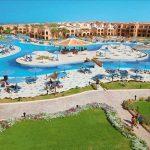 Zonnig resort direct aan Egyptische kust met verkoelend aquapark