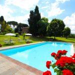 8-persoons vakantieboerderij met privé zwembad op een heuvel in Toscane
