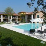 Luxe appartement aan het Gardameer met zwembad