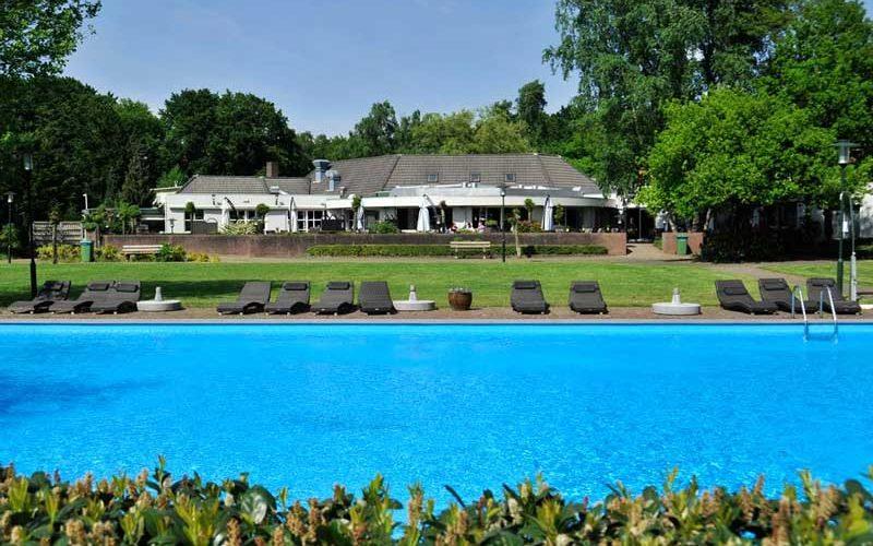 Hotel met buitenzwembad in Gelderland, bij Arnhem