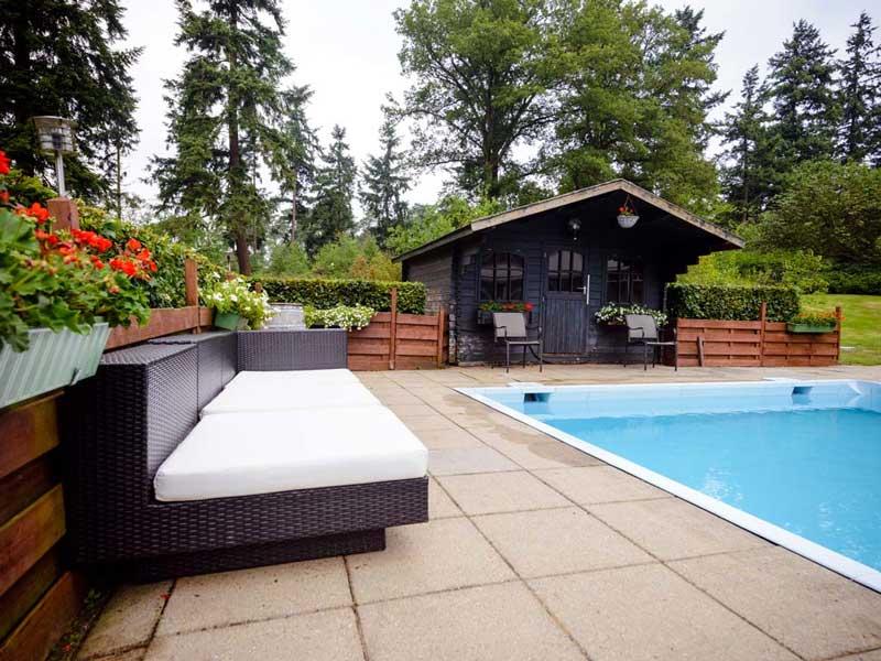 Hotel met buitenzwembad bij Beekbergen-Apeldoorn