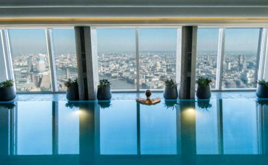 Stedentrip Londen met zwembad