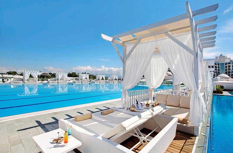 Luxe hotel in Turkije, Belek, Antalya.