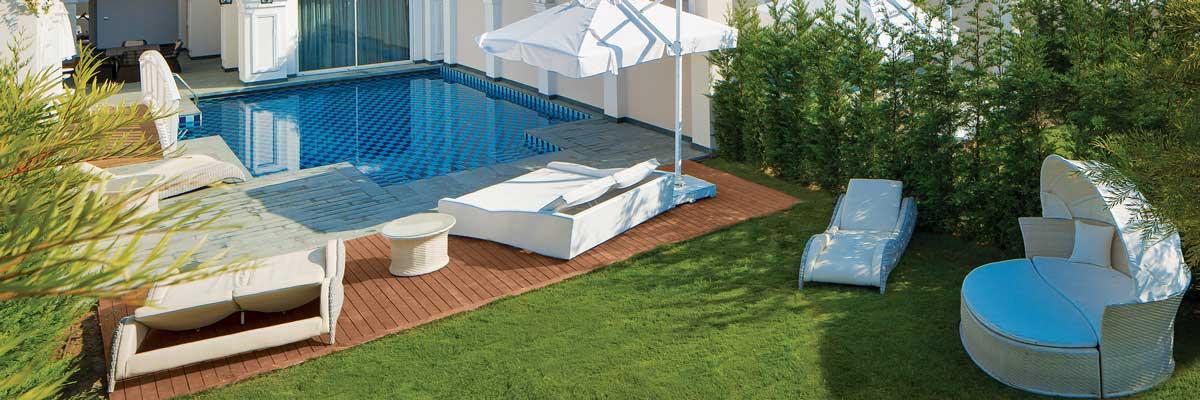 Villa met privé-zwembad in Turkije, voor een luxe zwembadvakantie!