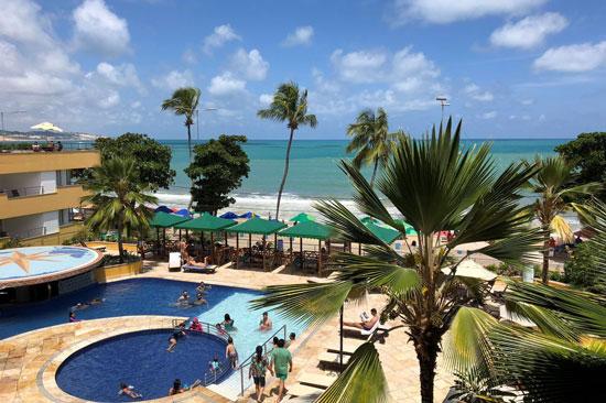 Heerlijke zonvakantie aan de Braziliaanse kust vanuit top hotel