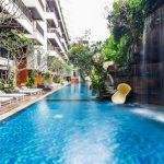 Fantastisch hotel op Bali met verkoelende zwembaden
