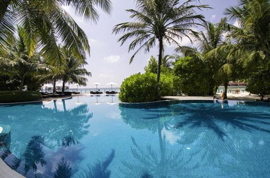 Luxe vakantie Malediven met zwembad