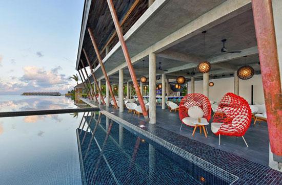 Resort Malediven met zwembad