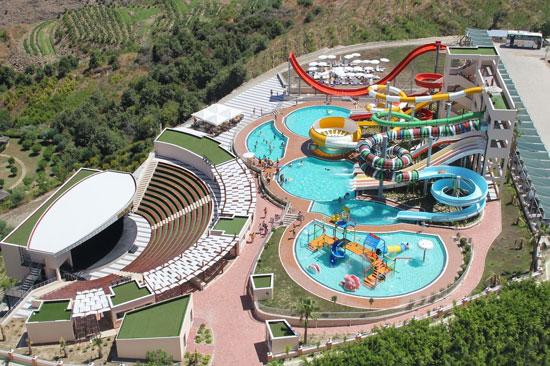 Indrukwekkend zwemparadijs in Turkije