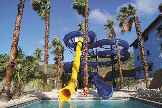 Hotel met zwembad op Curacao