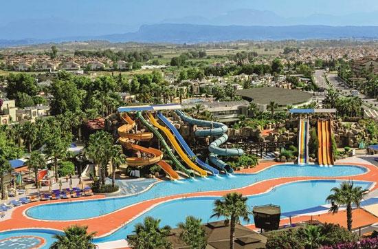 Prachtig aquapark bij mooi resort in Turkije