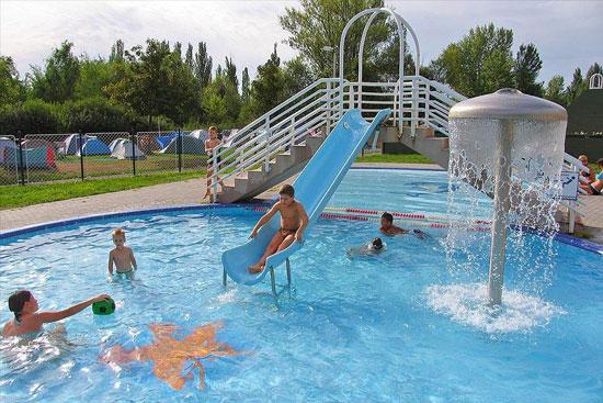 Vakantie aan het Balatonmeer met zwembad