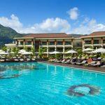 Het grootste zwembad van de zonnige Seychellen vind je hier