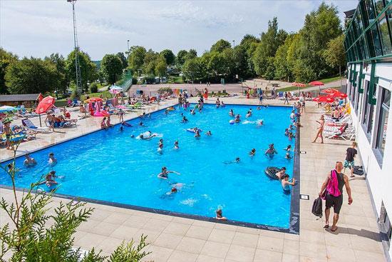 Grootste zwembad van de Ardennen