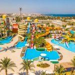 Spectaculair waterpark bij hotel in het zonnige Egypte