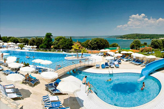 Vakantie Kroatië met zwembad