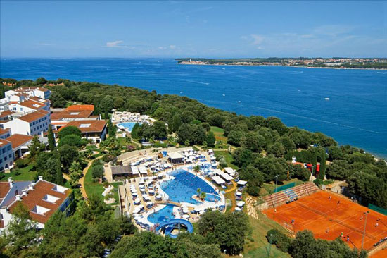 Vakantie Kroatië met groot zwembad