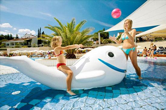 Hotel Kroatië met zwembad