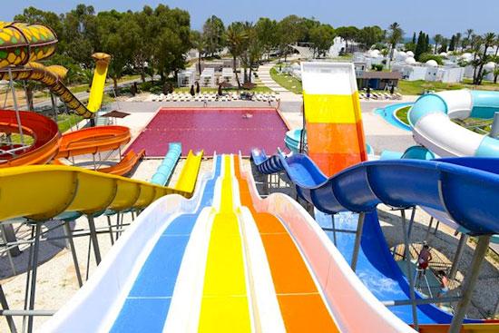 Vakantie met zwembad in Tunesië