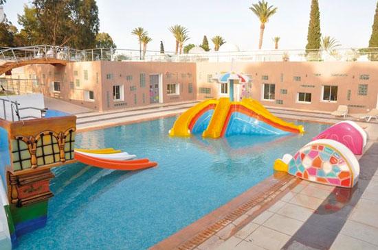 Hotel Tunesië met groot zwembad