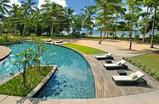 Waan je in luxe vanuit dit droomresort op de zonnige Seychellen