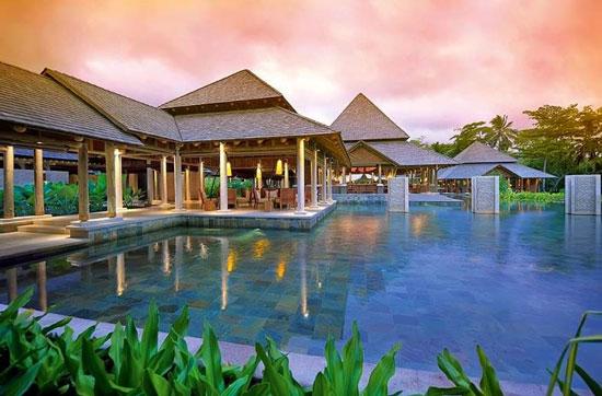 Vakantie met groot zwembad Seychellen