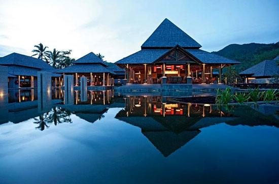 Hotel met groot zwembad Seychellen