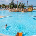 Paradijs voor kinderen aan zee in Kroatië