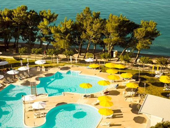 Op vakantie naar Dalmatië met zwembad