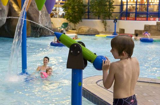 Vakantie Denemarken met subtropisch zwembad