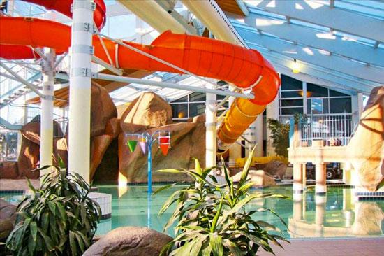 Vakantie Denemarken met groot binnenzwembad