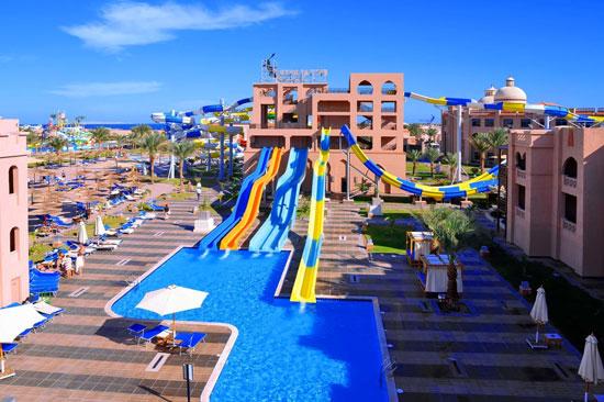 Resort Egypte met groot aquapark