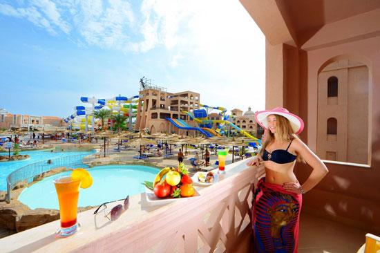 Hotel Egypte met groot waterspeelpark