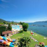 Kamperen aan de oever van Lago Maggiore