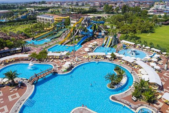 Vakantie in Side met aquapark