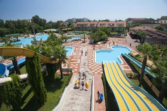 Vakantie Side met waterpark