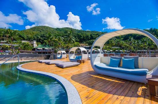 Hotel met droomzwembad Seychellen