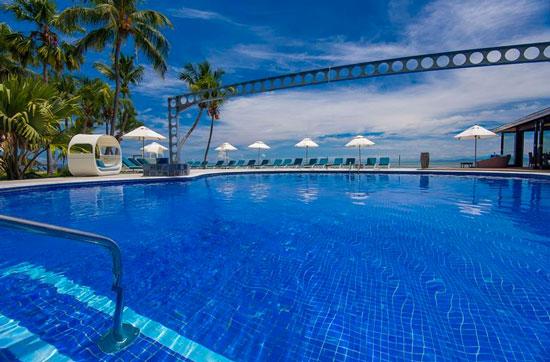Vakantie met droomzwembad Seychellen