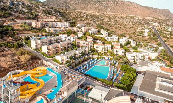 Hotel met groot zwembad Kreta