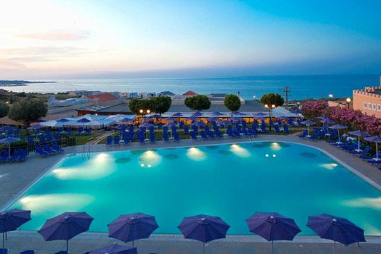 Vakantie met groot zwembad Kreta