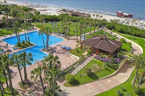 Resort met groot zwembad Tunesië