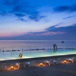 Luxe kamperen bij een mooi resort in Kroatië met infinity pool