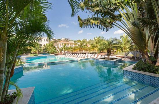 Vakantie op Curacao met groot zwembad