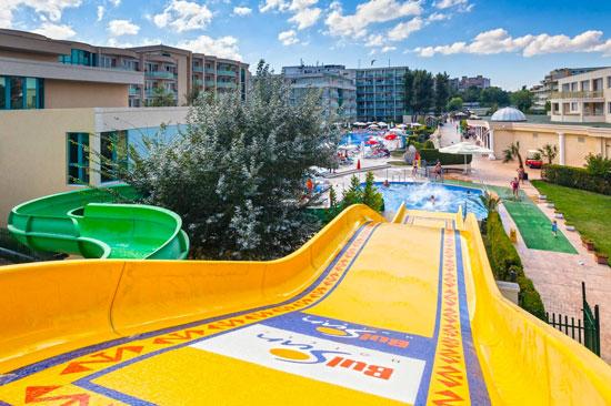 Vakantie Sunny Beach met zwembad