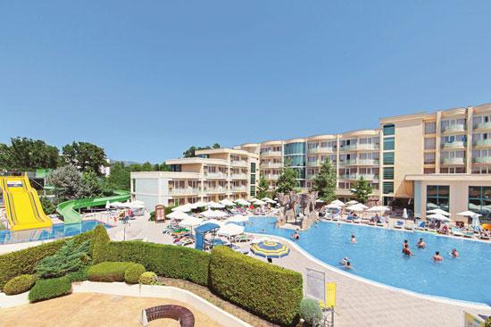 All-inclusive Sunny Beach met groot zwembad