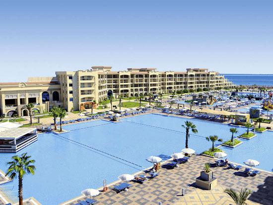 All-inclusive genieten aan de zonnige Egyptische kust vanuit luxe resort