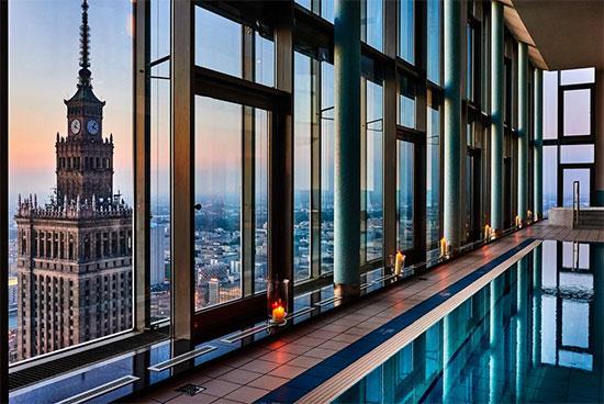 Leukste hotels met zwembad Warschau