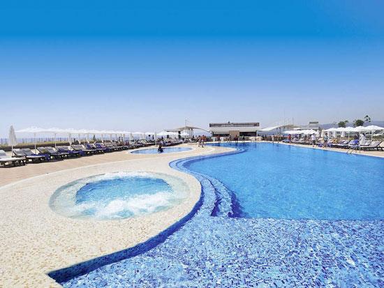 Resort met groot zwembad in Turkije